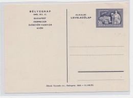 Ungarn -Ganzsache    (be5401 ) Siehe Scan - Postal Stationery