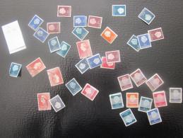 NEDERLAND HOLLANDE VRAC DE TIMBRES POSTE DE COLLECTION Non Comptés Non Cotés.Majorité En Oblitérés Propres Lavés N°verso - Postzegels