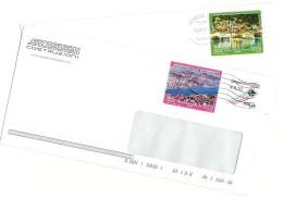 Italia 2014  Turismo Olbia E Lovere  Su Buste Commerciali - 2011-...: Storia Postale