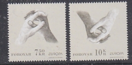 Europa Cept 2006 Faroe Islands  2v ** Mnh (29051) - 2006