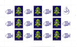 """Tchéquie 2012  ( Feuillet 9 T.+ Vignette """"Noël 2012""""  )  Luxe ** - Nuovi"""