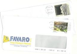 Italia 2014  Via Claudia Augusta E Bimillenario Augusteo  Su Buste Commerciali - 6. 1946-.. Repubblica