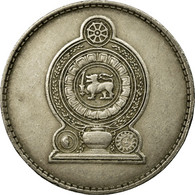 Monnaie, Sri Lanka, Rupee, 1975, TTB, Copper-nickel, KM:136.1 - Sri Lanka