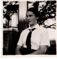 Photo Originale Guerre 39-45 - Portrait D´une Jeune Femme, Bund Deutscher Mädel - Jeunesses Hitlériennes Féminines 1940 - Oorlog, Militair