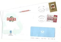 Italia 2014  Nutella E ISPI Su Buste Commerciali - 6. 1946-.. Repubblica