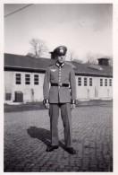 Photo Originale Guerre 39-45 - Portrait D'un Jeune Soldat Allemand En Uniforme - Guerra, Militari