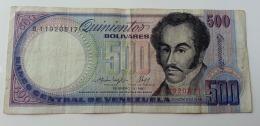 VENEZUELA 500 BOLIVAR 1987 - Venezuela