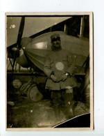THMS2 Aviation. Photo Format 9x12 Cm Pilote Et Son Avion - Avions