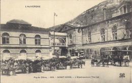 LE MONT DORE     L'ETABLISSEMENT THERMAL - Le Mont Dore