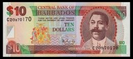 Barbados 10 Dollars 1999 P.56 UNC - Barbados