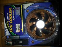 MATERIEL - VENTILATEUR ZALMAN ULTRA QUIET CPU COOLER CNPS7000A-Cu - NEUF DANS SON EMBALLAGE D'ORIGINE - Technical