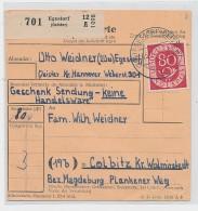 Bund Posthorn  Paketkarte  EF 137 (be5906 ) Siehe Scan ! - BRD