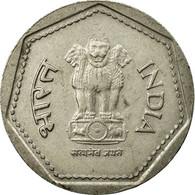 Monnaie, INDIA-REPUBLIC, Rupee, 1985, Bombay, TTB+, Copper-nickel, KM:79.1 - Inde
