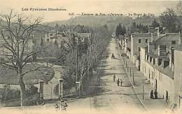 - Pyrenees Atlantiques -ref- A390 - Jurancon - La Route De Gan - Rails De Tramway -  Carte Bon Etat -