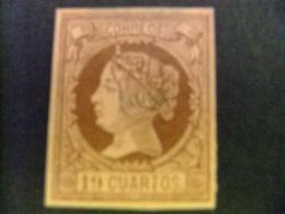 ESPAÑA SPAIN ESPAGNE 1860 19 CUARTOS FALSO SPERATI Edifil Nº 54 Yvert Nº 50  Ver Fotos - 1868-70 Gobierno Provisional