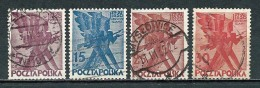 Poland Polen Pologne 1930, MiNr 265-268, Fi 246-249, Sc 263-266, YT 351-354 Used - 1919-1939 République
