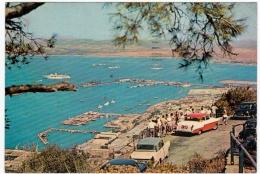 GIBILTERRA - VIEW OF TOWN & HARBOUR - GIBRALTAR - AUTOMOBILI - CARS - Vedi Retro - Gibilterra