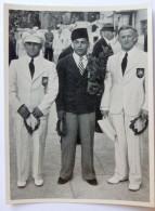 VIGNETTE JEUX OLYMPIQUES J.O BERLIN OLYMPIA 1936 PET CREMER DUSSELDORF BILD 37 POIDS MOYEN EL TOUNI EGYPTE - Trading Cards
