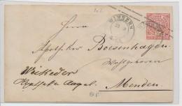 Nord Deutscher Postbezirk Ganzsache - Wimbern  (be5967  ) Siehe Scan ! - North German Conf.