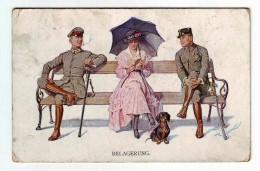 Belagerung, Soldaten Mit  Mädchen, HUND, DOG   2 SCAN - Guerre 1914-18
