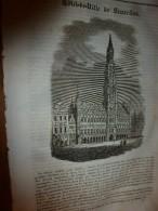1833 LM :Bruxelles;VIGNE,un Pied à Cornillou,route De Barjac ,donne 350 Bouteilles De T Bon Vin;Chapelle Guillaume Tell - Vieux Papiers