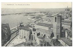 MARSEILLE (13) La Joliette - Vue Générale - Les Maisons, Le Port, La Cathédrale De Major - Joliette, Port Area