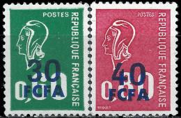 FRANCE CFA - Marianne De Bequet 1974 - Reunion Island (1852-1975)