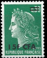 FRANCE CFA - Marianne De Cheffer 1973 - Reunion Island (1852-1975)