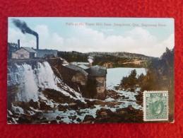 CANADA QUEBEC FALLS AT THE PAPER MILL JONQUIERES QUE SAGUENAY RIVER - Ste. Anne De Beaupré