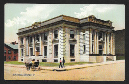 Post Office Building Zanesville OH Unused C1910s STK#93653 - Postal Services