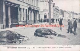 Berchem 1914 Bombardement - Antwerpen