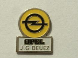 PIN´S OPEL -  J.G DEUEZ - Opel