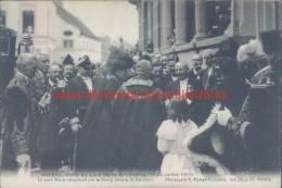 1910 Bezoek Burgemeester Londen. Met Burgemeester Van Berchem - Antwerpen