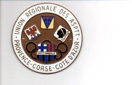 ASPTT Marseille : Médaille De L'Union Régionale Des ASPTT Provence Corse Cote D'Azur - Athlétisme