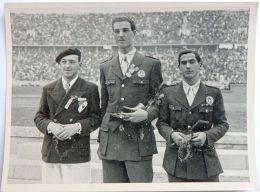 VIGNETTE JEUX OLYMPIQUES J.O BERLIN OLYMPIA 1936 PET CREMER DUSSELDORF BILD 54 ESCRIME GARDERE GAUDINI - Tarjetas