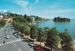 Lago Maggiore : PALLANZA : Lungolago E Isolino San Giovanni (avec Voitures) - Altre Città