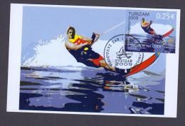 MONTENEGRO 2009 MAXIMUM CARD Water Skiing