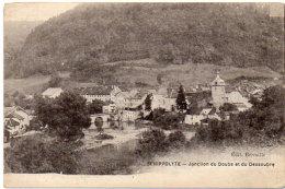 SAINT HIPPOLYTE - Jonction Du Doub Et Du Dessoubre    (86377) - France