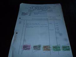 FF3LC149 Facture La Renaissance Gentil D'Haeyere Anc Ets Trantesaux Fabrique De Fauteuils Meubles Ledegem 1960 - Belgique