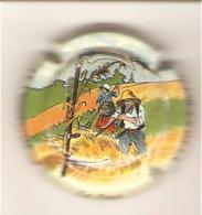 CAPSULE MUSELET CHAMPAGNE  J.J. PESSENET ET FILS REUIL La Faux Multicolore - Vigneronne, La