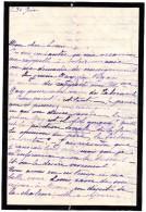 64Stm  Lettre De J.L. De Regis Tarascon Au Chatelain Chateau De Fonscolombe Puy Ste Reparade 1920 Voir Cachet - Manoscritti