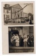 MAIZIERES LES METZ (54) - CARTE PHOTO - PROCESSION RELIGIEUSE - Altri Comuni