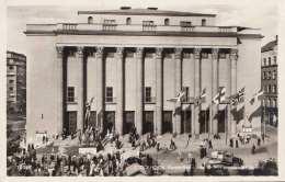 STOCKHOLM - Konserthuse, Fotokarte Gel.1947, Österr.Zensurstempel - Schweden