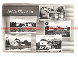 AMATRICE - MULTIVEDUTE DI VILLE  F/GRANDE VIAGGIATA - Rieti