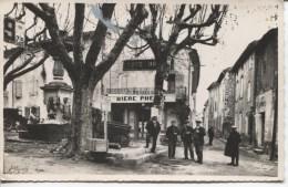 CPA - ST ETIENNE LES ORGUES - PLACE DE LA FONTAINE - France