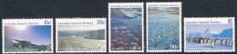Territoire Antarctique Australien - Vues Du Territoire 68/72 ** - Neufs