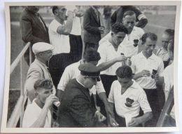 VIGNETTE JEUX OLYMPIQUES J.O BERLIN OLYMPIA 1936 PET CREMER DUSSELDORF BILD 73 FOOTBALL EQUIPE D'AUTRICHE - Trading Cards