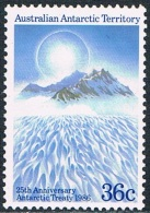 Territoire Antarctique Australien - 25e Anniversaire Du Traité Antarctique 73 ** - Territoire Antarctique Australien (AAT)