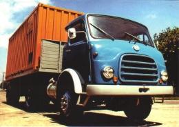Csepel 462 Articulated Container Truck  - Camion - Hungary/Hongrie - CPM - Vrachtwagens En LGV