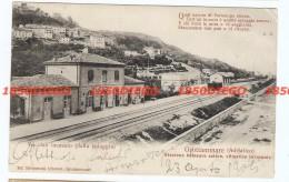 GROTTAMMARE - STAZIONE FERROVIARIA E VECCHIO INCASATO F/PICCOLO VIAGGIATA - Ascoli Piceno